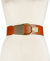 INC International Concepts Hook-Front Stretch Belt, Only at Macy's