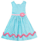 Rare Editions 2T-6X Dot-Print Dress