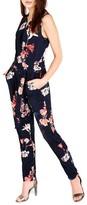 Wallis Women's Shadow Blossom Jersey Jumpsuit