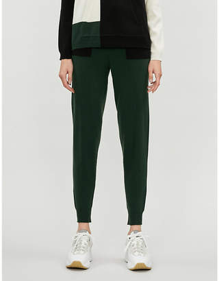 Chinti and Parker Colour-block cashmere and wool-blend jogging bottoms