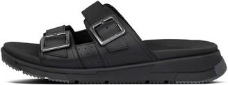 FitFlop Arlo Mens Adjustable Leather Slides