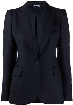 P.A.R.O.S.H. Plain Single Breasted Blazer