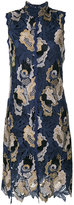 See by Chloe embroidered lace midi dress
