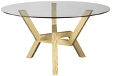 Saloom Cleo Round Dining Table