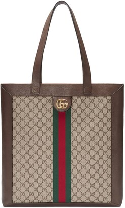 Gucci Ophidia soft GG Supreme large tote