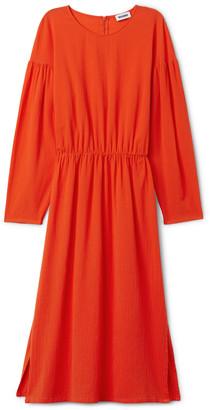 Weekday Yancey Dress - Orange