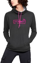 Under Armour Women's UA Tech Terry Graphic Funnel Neck