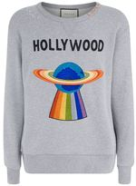 Gucci Hollywood Ufo Motif Sweatshirt