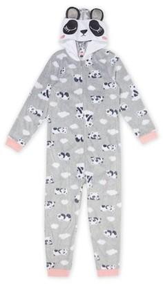 Wonder Nation Girls Exclusive Super Soft Fleece Blanket Sleeper Pajama Sizes 4-18 & Plus