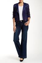 Seven7 Utility Pockets Wide Leg Flare Jean
