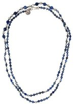 Chan Luu Sodalite & Quartz Bead Necklace