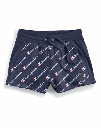 Champion Life Women's Printed Reverse Weave Short