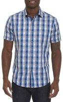 Robert Graham Greenfield Check Short-Sleeve Sport Shirt