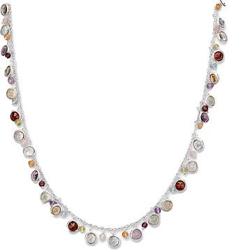 Samuel B. Silver Round Charm Necklace