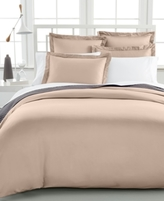Charter Club CLOSEOUT! Damask Full/Queen Duvet Cover, 500 Thread Count 100% Pima Cotton