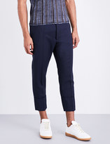 Vivienne Westwood James Bond regular-fit tapered cotton-twill trousers