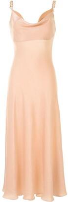 0711 Cowl Neck Dress