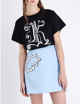 Christopher Kane Kane-print cotton-jersey t-shirt