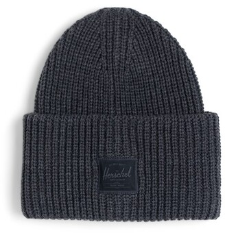 Herschel Juneau Ribbed Hat Charcoal