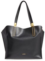 Lodis 'Blair Collection - Anita' Leather Tote - Grey