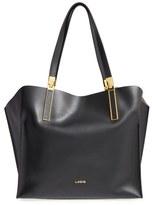 Lodis 'Blair Collection - Anita' Leather Tote - Grey
