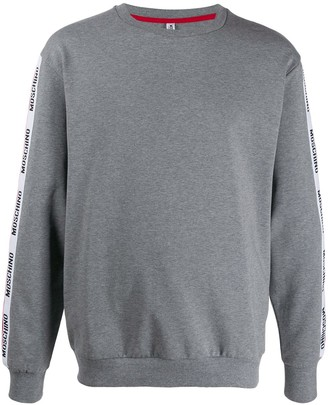 Moschino Logo Stripes Sweatshirt
