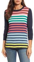 Halogen Colorblock Stripe Sweater