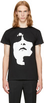 Neil Barrett Black Big Face T-shirt