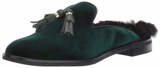 Sperry Womens Seaport Levy Tassel Fur Mule Loafer