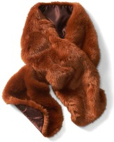 Banana Republic Faux Rabbit Fur Scarf
