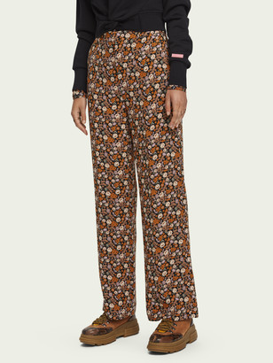 Scotch & Soda Edie High rise wide leg pants | Women