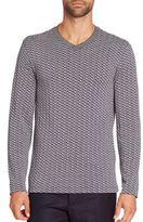 Giorgio Armani V-Neck Sweater