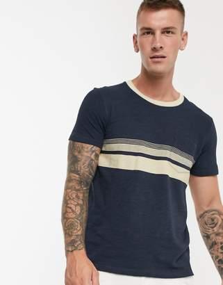 Selected BCI cotton pocket t-shirt-Blue