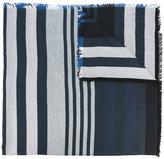 Sonia Rykiel striped scarf - women - Silk/Cotton/Wool - One Size