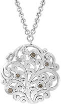 Lois Hill Silver Toggle Necklace