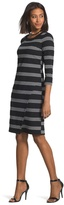 Chico's Textured Stripe Dress