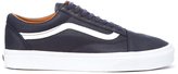 Vans Old Skool Premium Leather Trainers Parisian Night/true White