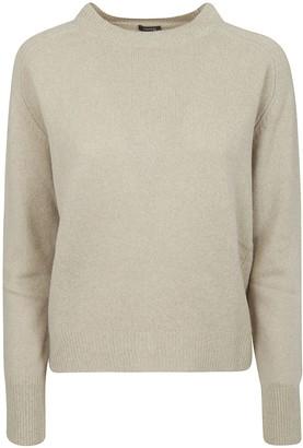 Aspesi Knitted Ribbed Sweater