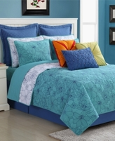 Fiesta Martika Reversible Full/Queen Quilt Set