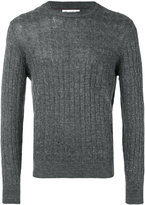 Brunello Cucinelli crew neck jumper - men - Cotton/Linen/Flax - 48