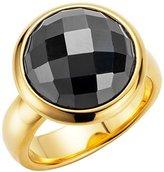 Gerry Weber 138796210580 Ladies'Ring Stainless Steel Hematite Black Size 54 (17.2) - 191088816540