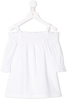Lapin House Off-Shoulder Dress