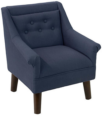 One Kings Lane Bella Kids' Accent Chair - Navy