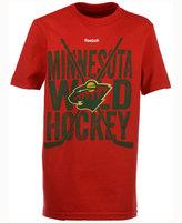 Reebok Kids' Minnesota Wild Cross Stix T-Shirt
