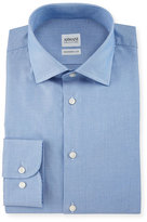 Armani Collezioni Modern Fit Micro Rope-Print Dress Shirt, Light Blue