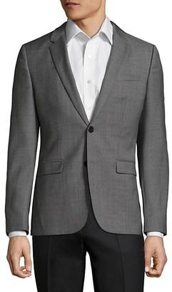 HUGO BOSS Astian-Hets Slim-Fit Wool Jacket