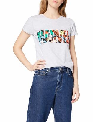Marvel Women's Logo Character Infill T - Shirt