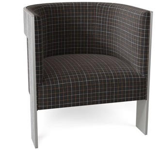 Bernhardt Cosway Barrel Chair Body Fabric: 1901-211