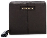 Cole Haan Benson Small Leather Zip Wallet