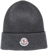 Moncler ribbed knit beanie - men - Virgin Wool - One Size